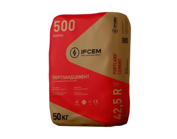 Цемент ПЦ 500 тарований