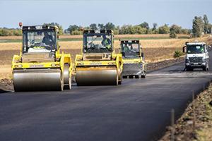 Будівництво доріг Сумщини