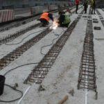 Займаємося бетонуванням швів між прогоновими балками на мосту у с.Климентове