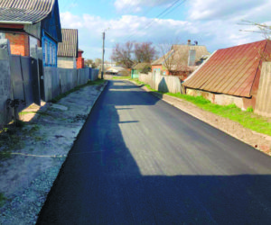 ремонт дорог Тростянця