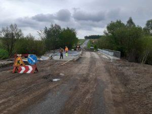 Ремонт мосту в с. Галаївець