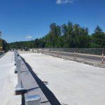 Завершили бетонування монолітної плити в Климентовому