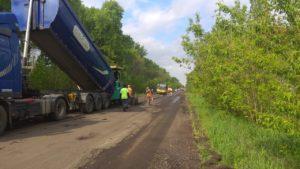 ремонт дороги Батурин-Конотоп-Суми