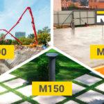 Вибір марки бетону – як не помилитись?