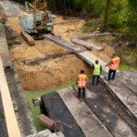 «СУМИМОСТОБУД» продовжує ремонт мосту біля Катеринівки