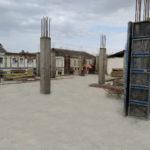 Товарний бетон для нових колон торгівельного центру