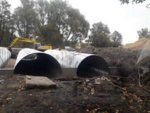 бетонування водопропускних труб RGM group