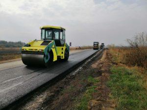 ремонт дороги Конотоп-Буринь-Чумакове