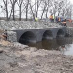 """ТОВ """"Сумимостобуд"""" продовжує капітальний ремонт мостового переходу в с.Бобрик"""