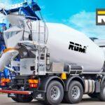 Бетон з доставкою від RGM group: скільки коштує міксер бетону?